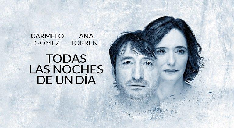 Carmelo Gómez y Ana Torrent llegan a Soria con 'Todas las noches de un día'