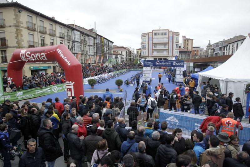 El Duatlón de Soria contará este fin de semana con 1.700 deportistas