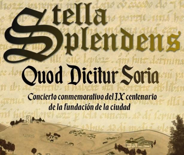 El Ayuntamiento pone música al 900 aniversario de la fundación de Soria de la mano de Stella Splendens