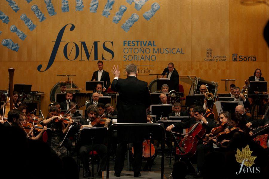 Más de 10.000 personas han hecho posible la XXVII edición del Festival Otoño Musical Soriano.