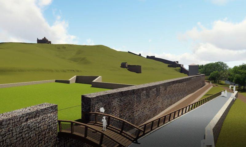 Los trabajos de rehabilitación de la muralla arrancan esta semana comenzando por el tramo entre San Ginés y el Mirón