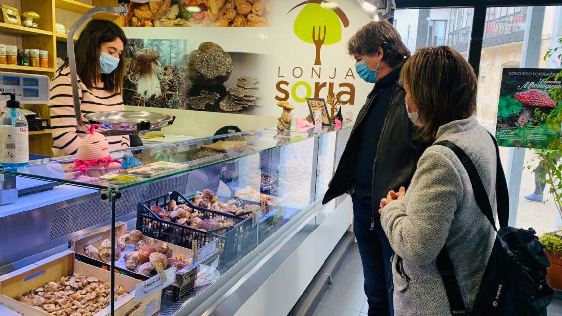 El Ayuntamiento de Soria pone en marcha la lonja micológica en el Mercado Municipal y sigue apostando por este sector como un motor económico