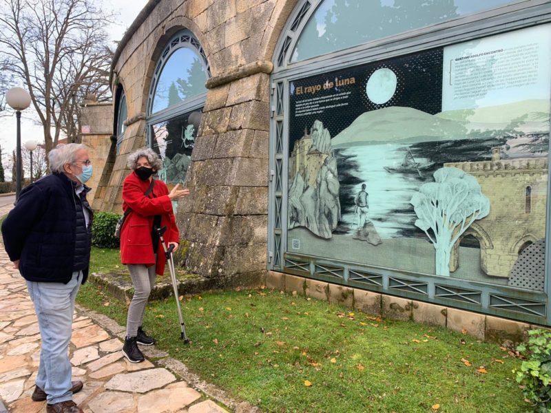 La obra de los hermanos Bécquer se asoman a los depósitos del Castillo bajo la mirada artística más contemporánea de Miriam Tello y Lola Gómez