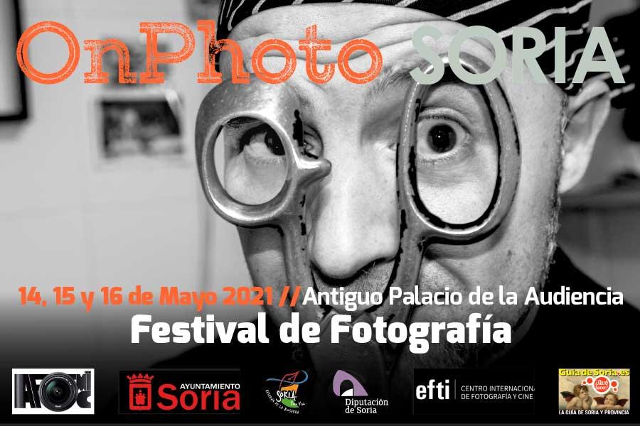 OnPhoto Soria encara su quinta edición los días 14, 15 y 16 de mayo con ponentes como Chema Conesa, Angélica Dass, Eduardo Momeñe y Sofía Moro